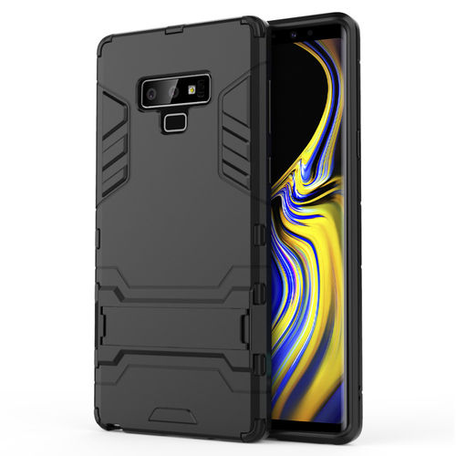 Slim Armour Tough Shockproof Case for Samsung Galaxy Note 9 - Black